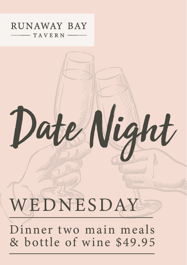 Date Night Wednesday - Runaway Bay Tavern